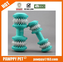 Hot selling natural rubber pet shop toys dog teeth clean toy