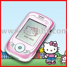 unlocked hello kitty 318 Touch Screen Mobile phone cell Phone