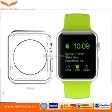 Total Clear Custom Lightweight Exact Fit TPU Watch Protective Case Manufacturer