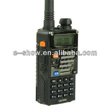 Australian Frequencies 5W 128CH UHF VHF Dual Band Two-Way Radio Walkie Talkie UV-5RE For Australia