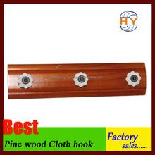 Wholesale wooden peg hook hanger in good quality