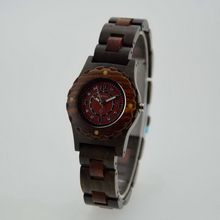 Good quality branded natural sandalwood watch high quality