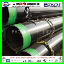 Internal/External 3PE 3PP FBE Epoxy Coating Steel Pipe