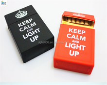 Smoking custom Cigarette case/ cigarette box/silicone cigarette pack cover