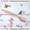 Transparent Glass Nail File with different shape wholesale