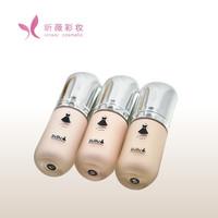 privade label makeup moisturising waterproof sunscreen liquid foundation