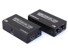 High quality good price 2 cat cables HDMI Extender 50m with 3D 1080p