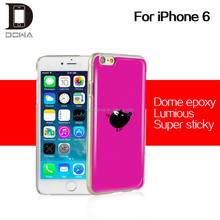 PC PU gel epoxy mobile phone case for iphone