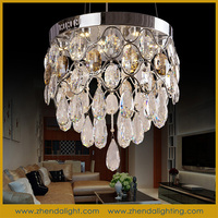 Energy Saving contemporary led crystal ceiling lighting pendant lights for house