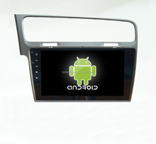 Android 4.4 Full touch screen car dvd GPS for Golf 7 +qual core +OEM+factory directly !