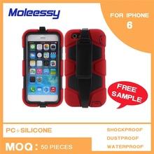 Hard mirror design phone cases for iphone 6