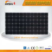 Professional Made Cheap Price 190w Mono Cheap Solar Panels China