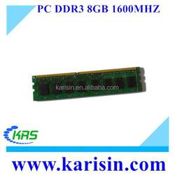 Factory wholesale pc3-12800 8gb 16gb ddr3 ram stick for desktop