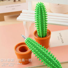 Novelty Plastic Cactus Shaped Ball-point Pen for Promotional Gifts 2015 School&Office Supplies Wholesale Ball Point Pen NN-1023