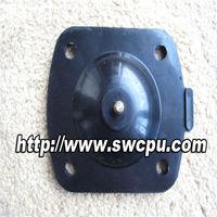 Rubber diaphragm for gas regulator
