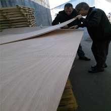 Linyi consmos 2.7mm CARB P2 okoume face plywood