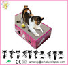 Creative Corrugated Cat Scratching Toy Cat Play Cat Scratcher Box