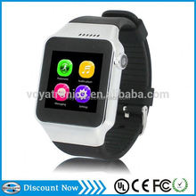 hot new products for 2015 wood grain style smart watch for lady