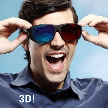 Promotion Cheap Funny 3D Plastic Paper Anaglyph Glasses From Fuchang