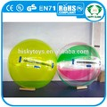 Cremallera alemán de bolas! De mármol de agua bola fuente/caliente el agua caminando las bolas/popular bola del agua