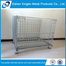 2015 steel warehouse storage cage storage steel champagne wire cage