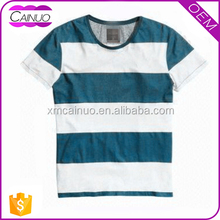 Blue And White Stripe T-Shirts China Manufacturer Selling