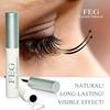 Newest FEG Eyelash Growth Liquid FEG 100% original herbal 7 days fuller eyelash serum hair growth eyebrow growth fast ship