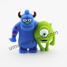 Mike Wazowski and James P. Sullivan animal usb flash drives from Monsters University