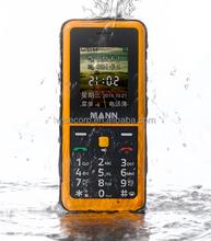 Rugged Phone MANN Q2 1.77 Inch Display 128*160 Pixel Bluetooth GPS Waterproof Dustproof Shockproof IP67 Certified Cell Phone