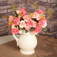 Persian rose wedding decoration artificial flowers for decoration party decorations artificial silk flowers wholesale