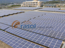 large scale solar energy project ground PV mounitng system solar power mounting