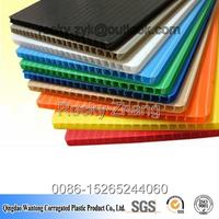 good 3mm hollow plastic board plasticor sheet fluteboard