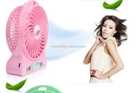 New battery fan, Cool Mini Portable electric Hand USB Fan with rechargeable battery fan