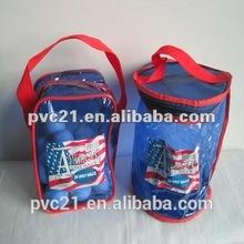 2014 bajo punto de fusión de embalaje sustituir el pvc bolsas pvcbag clara del pvc bolso de la cremallera para las bolas