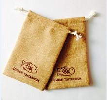 2015 Wholesale China Factory Jute pouch/jute bag/jute sack