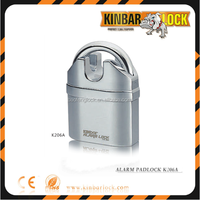 Most popular alarm padlock heavy duty for door cabinet use