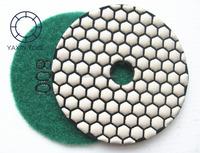 dry use hand diamond polishing pad for granite