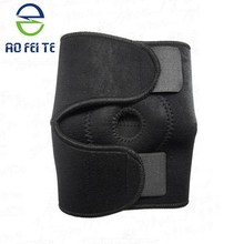 2015 New Products 1PCS Adult Pads Crashproof Basketball Leg Knee Long Sleeve Brace Protector Gear Black Color