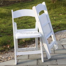 Garden wedding resin folding chair white with cheap price