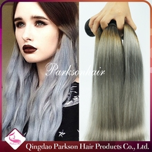 wholesale alibaba 8a brazilian hair weaving stock hair raw gray remy human hair