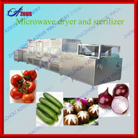 microwave sterilization/microwave sterilizer machine for vegetable/fruit/meat/chemical industry