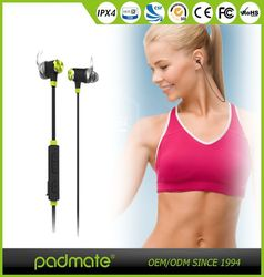 New Product Neckband Stereo Headphone Microphone Headset Bluetooth