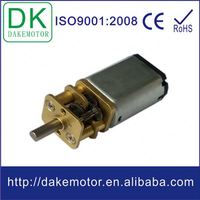 10~13mm low speed high torque 6vdc electric lock motor with metal gear reducer