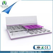 acrylic displayer multi tiers acrylic cosmetic display for cosmetic,jewelry,commodity