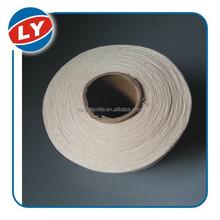 slash prices raw white 100% cotton 20s/2 stock lot yarn