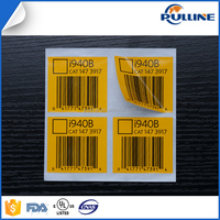 China suppliers customized special paper barcode stickers label roll