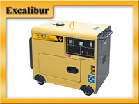 5.5KVA small 4 stroke three phase silent diesel generator price from China manufacturer