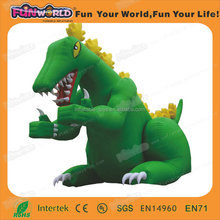 cheap china manufacture giant green dragon inflatable model