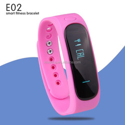 2015 new bluetooth mobile phone watch fitness activity tracking monitor silicon bracelet vibrating remind