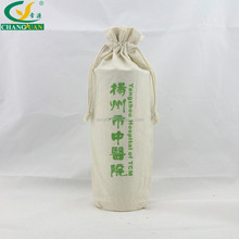 hot new products round bottom drawstring cotton bag